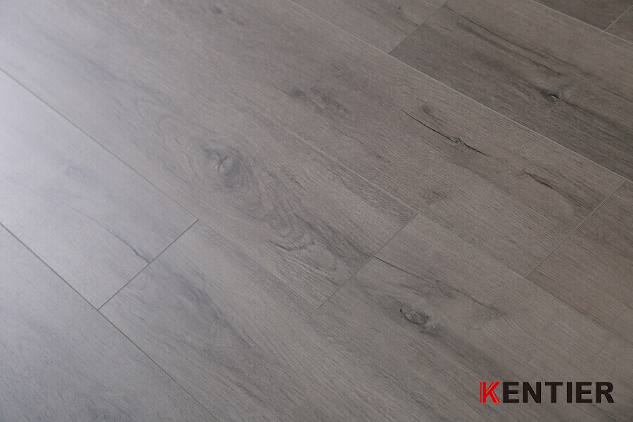 Oak Wood Surface with Crystal Treatment SPC Flooring
