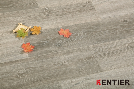 K2403-Dark Color Laminate Flooring with Wax Seal Treatment