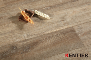 KL5303-Oak Wood Texture Dry Back Pvc Flooring with Embossed Surface