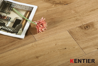 K1507-Natural Look Engineered Wood Flooring with Wire Brushed