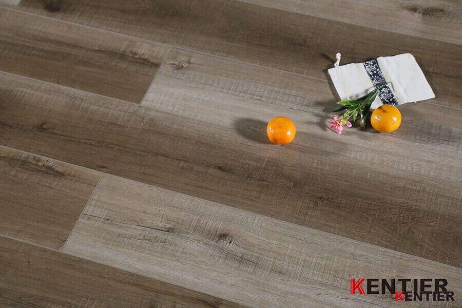 Cross Cut Surface Dry Back PVC Flooring