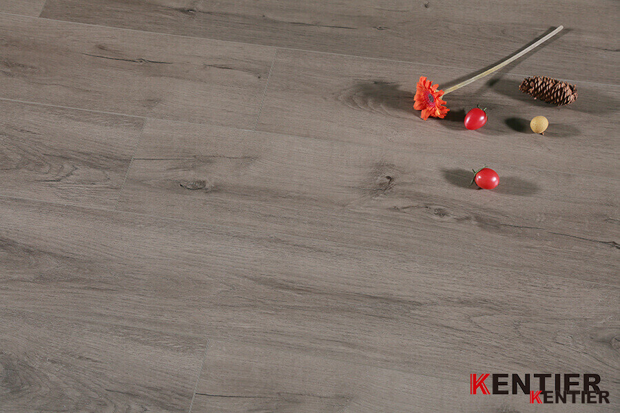 Oak Wood Surface with Crystal Treatment Dry Back PVC Flooring