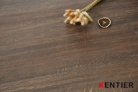 K9961-Maple Wood Texture of Dry Back Pvc Flooring with Handscraped Treatment