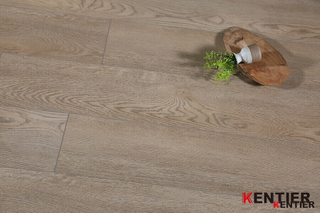 Light Brown Oak Rigid Vinyl Flooring