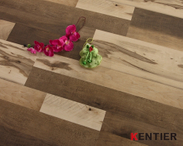 H8124-Multi-strip Dry Back Pvc Flooring with Crystal Surface