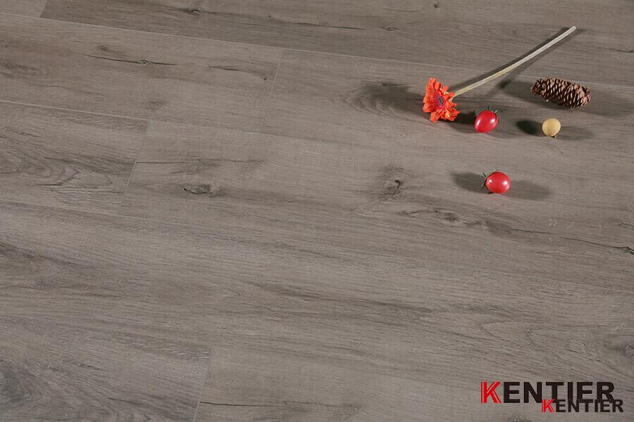 Oak Wood Surface with Crystal Treatment Luxury Vinyl Tile