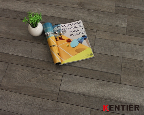 K3074-Pure Virgin Tile--PVC Flooring Dry Back Has Feature of Durable And Recyclable