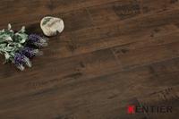 P2325-Black Walnut Texture Laminate Flooring with 4-side Wax Seal