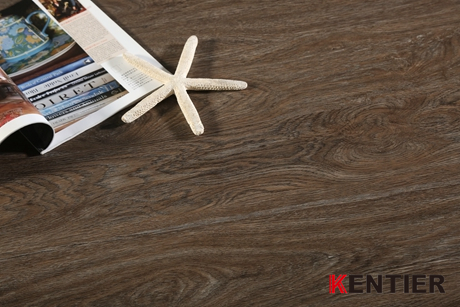 K1532-Dark Chocolate Dry Back Vinyl Tile with Kentier Brand