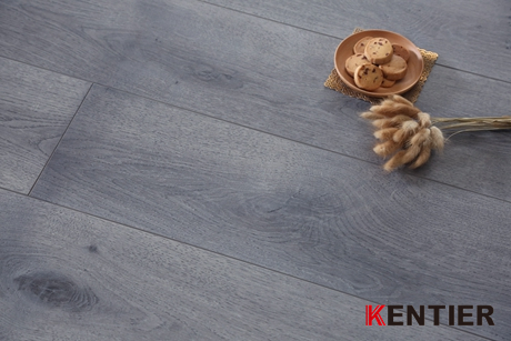 K5307-Grey Color with Oak Wood Texture Laminate Flooring