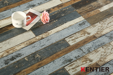J2104-Multi-strip And Art Series Wood Plastic Composite Flooring From Kentier